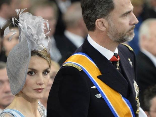 Príncipe da Espanha, Felipe  e princesa Letizia (Foto: AFP)
