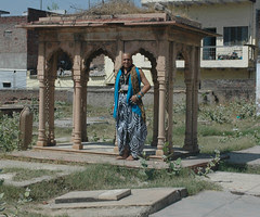 The Beggar Poet at Shaheed e Salis Agra by firoze shakir photographerno1