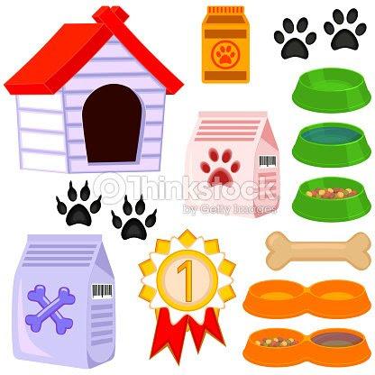 Conjunto De Icono De Mascotas Cuidados 13 Dibujos Animados Coloridos