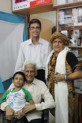 The Barefeet Blogger And  The Katkars of  Prakash Kala Mandir, Dadar West by firoze shakir photographerno1