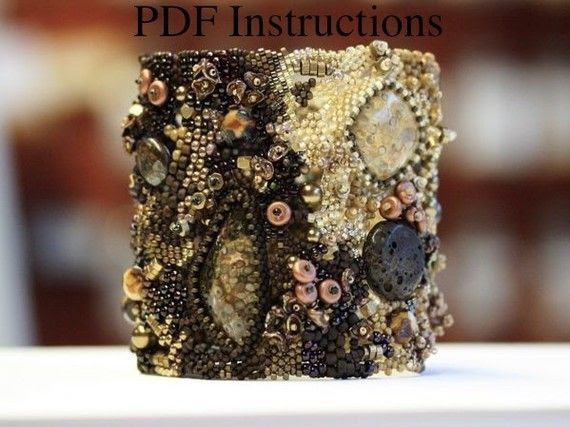 PDF Instructions for Freeform Bracelets