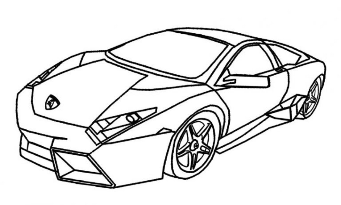 Lamborghini Drawing Outline at GetDrawings | Free download