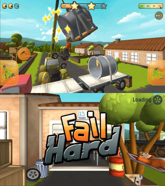Fail Hard - Android, iOS - Free