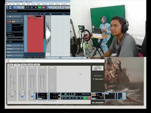 Proses Rekaman Produksi Audio Video Podcast di Rumah