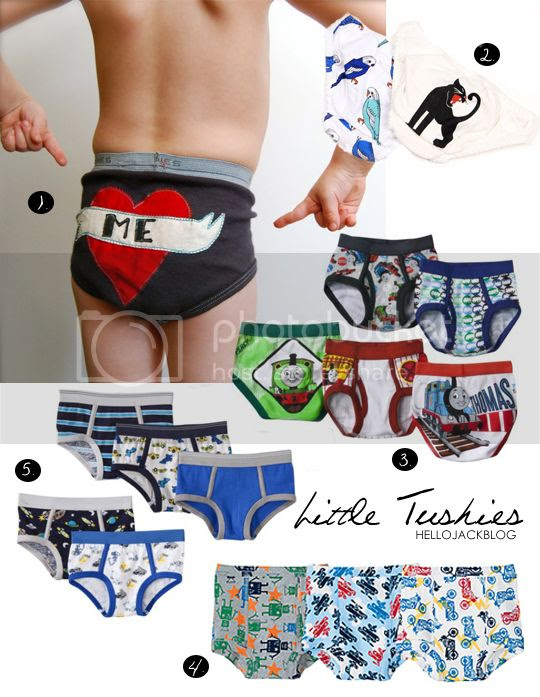 Hello Jack Blog: Little Tushie Underwear