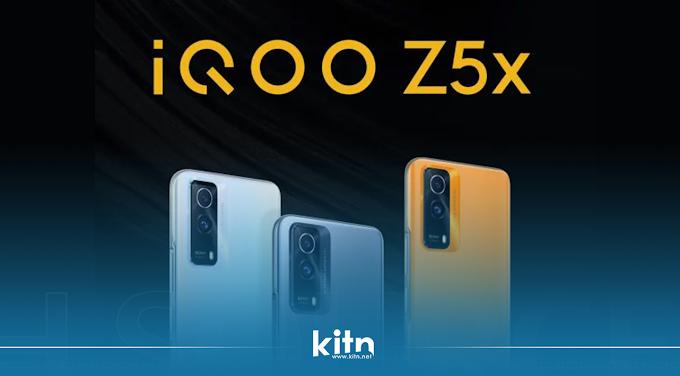 بە فەرمی مۆبایلی IQOO Z5x بە چیپسێتی Dimensity 900 و کامێرای 50 مێگاپیکسڵی و روونمای 120 هێرتزی نمایشکرا