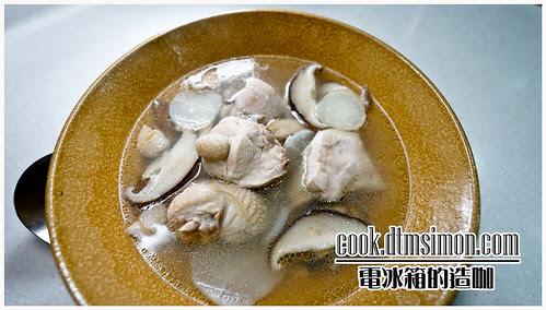 桂丁香菇雞湯