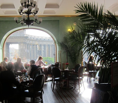 Singerin talon kahvila Pietarissa by Anna Amnell