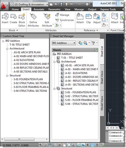 Through the Interface: AutoCAD .