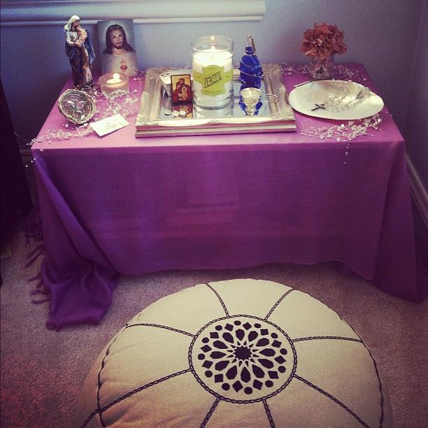 My sacred space.