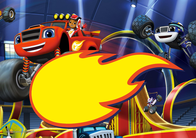 Desenhos Para Colorir Blaze And The Monster Machines