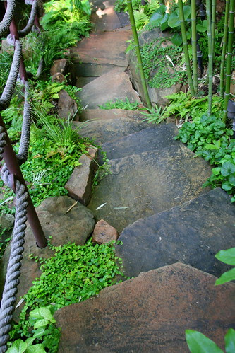 Wolford garden stairway