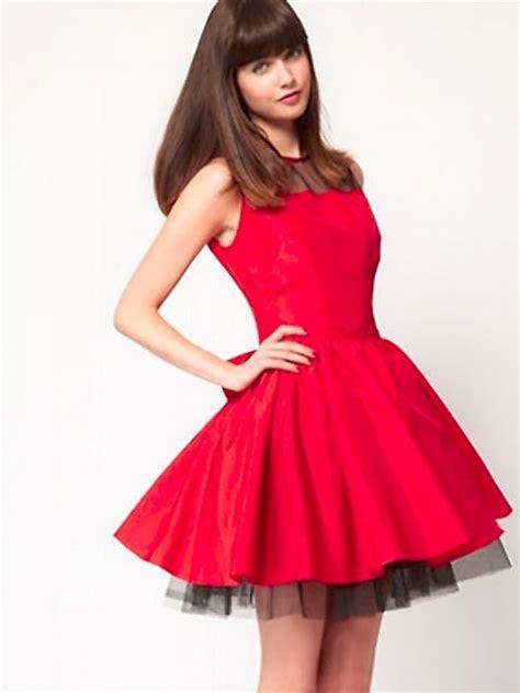 Short red wedding dresses   Styles of Wedding Dresses