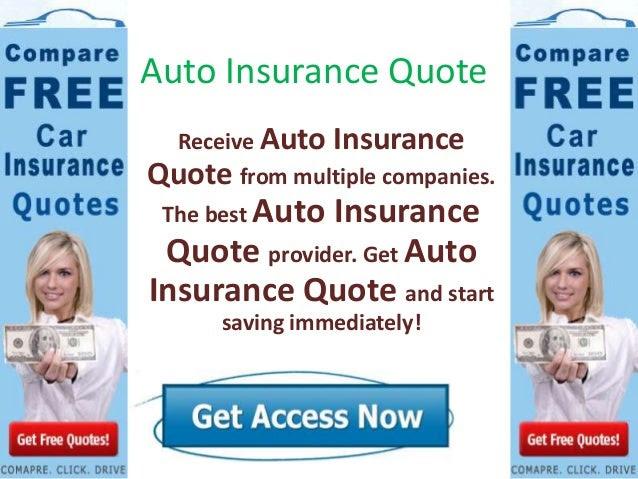Auto Insurance Quote - Online Auto Insurance Compare