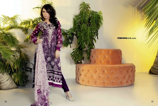 Firdous-Chiffon-Summer-Lawn-Collection-2013-Long-Shirt-with-Short-Tight-Trouser-11