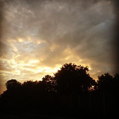 ...the sky tonight...