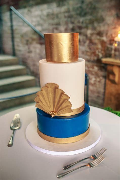 Art Deco Wedding Cakes   CHWV