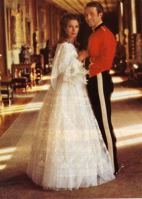 Royal Wedding Dresses of Great Britain: Princess Anne