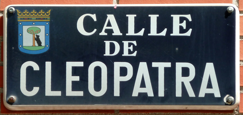 Calle de Cleopatra