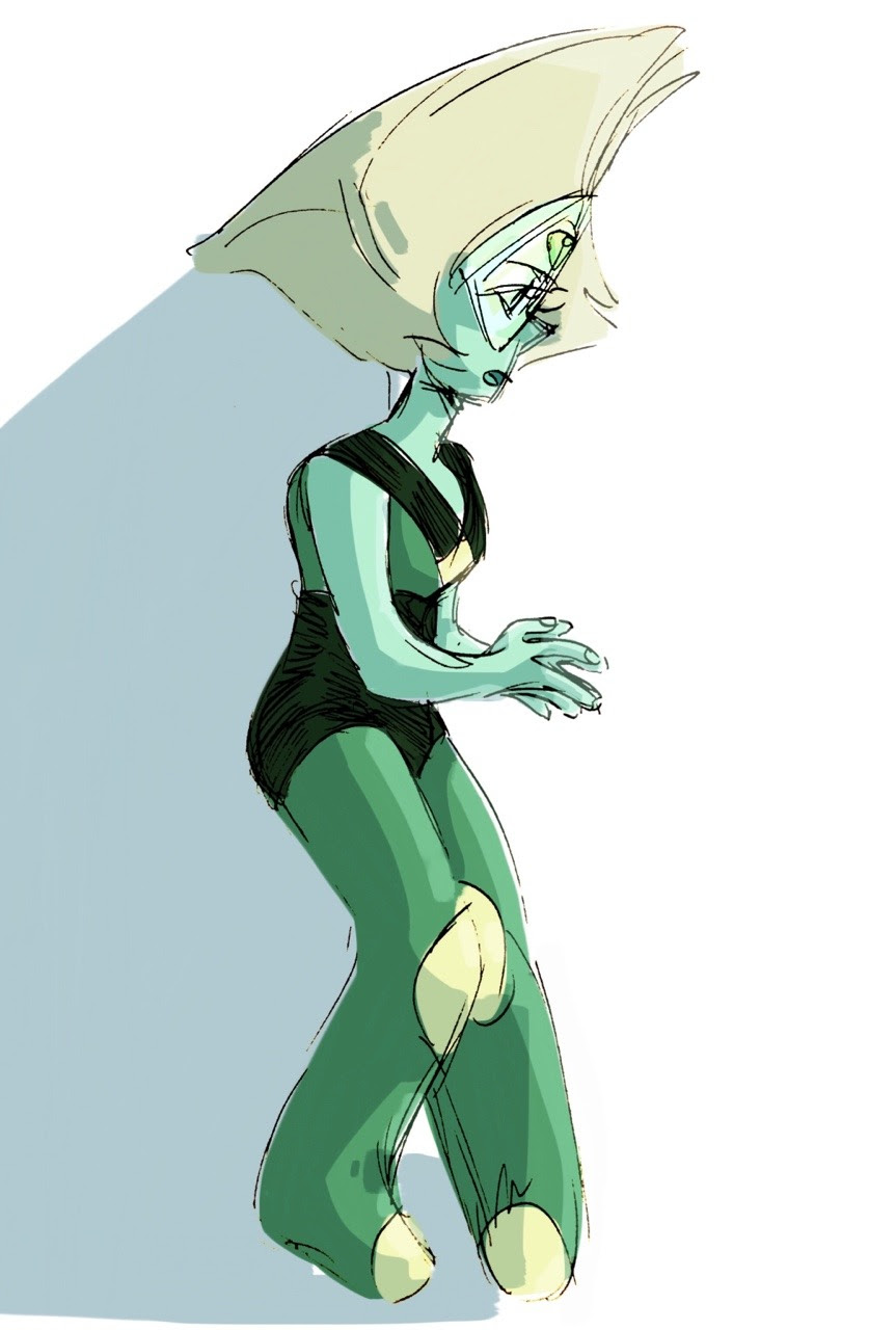 Tried giving Peridot a little different color palette. Not sure how much I like it though