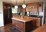 U Shaped Kitchen Design Ideas With Butcher Block Top Kitchen ...