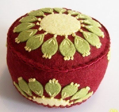 Red Rodeo Pincushion