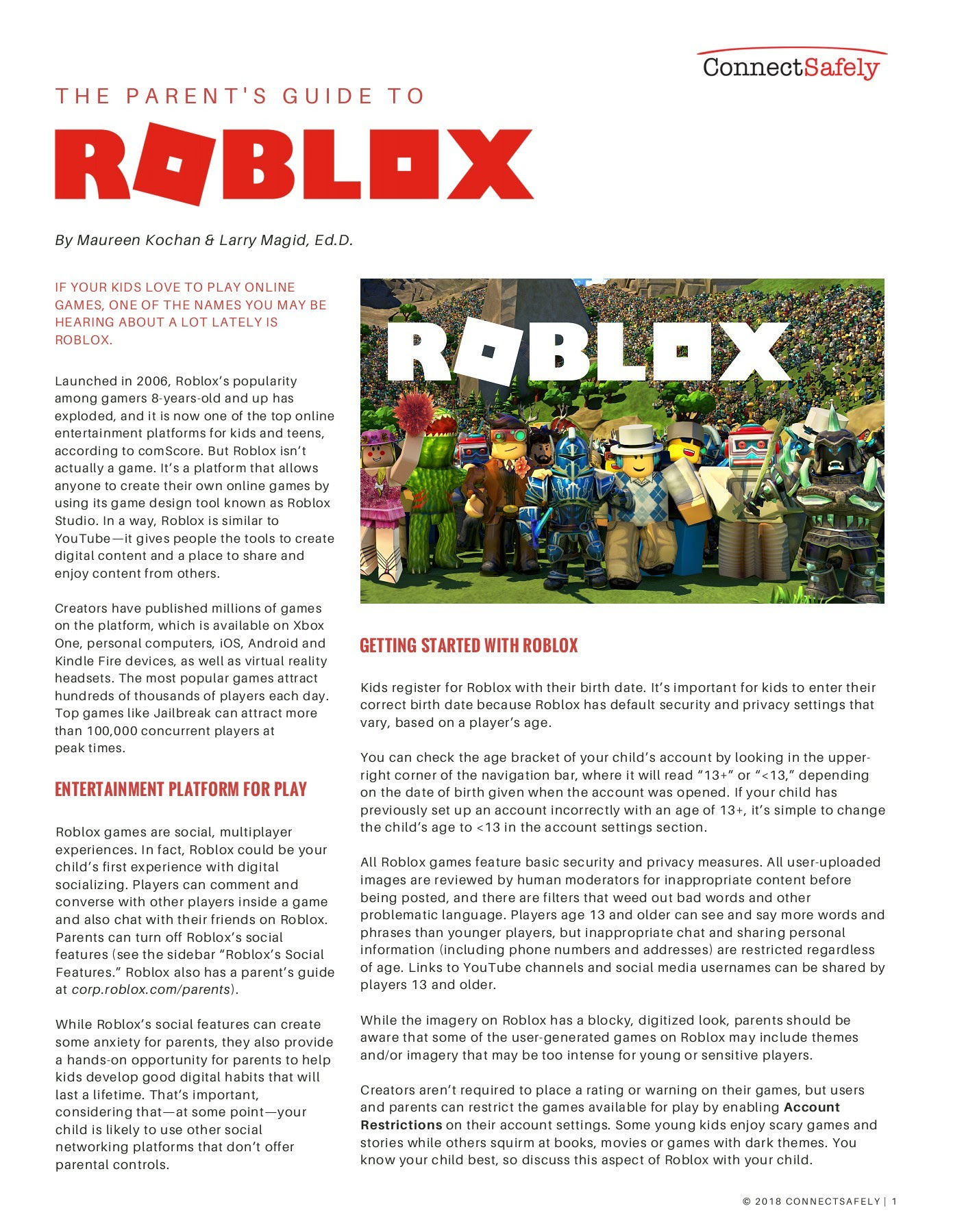 Roblox Parents Guide Pages 1 4 Text Version Fliphtml5 - 1 click free robux for kids