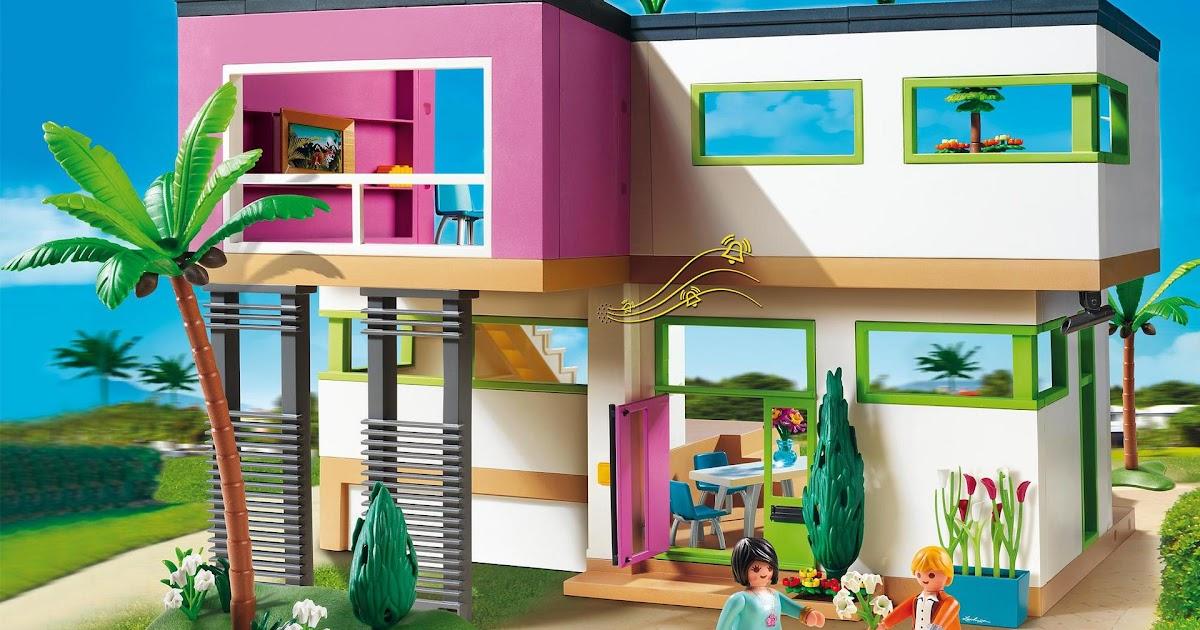 playmobil ausmalbilder luxusvilla