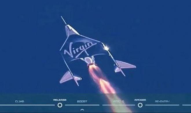 Исторический полет Virgin Galactic возобновил споры о том, что считать границей космоса