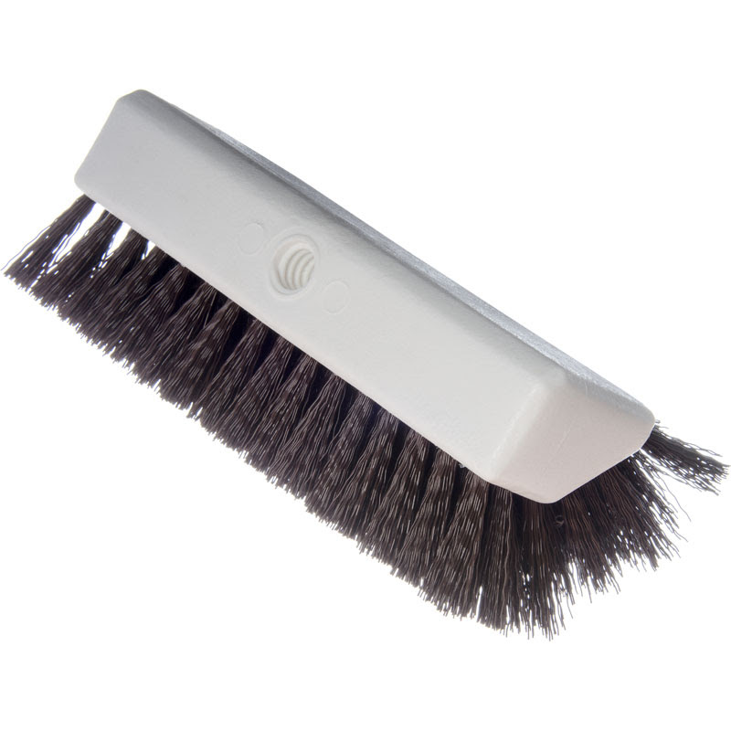Sparta Hi Lo Floor Scrub Brush Brown