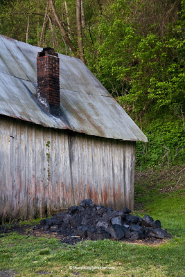 Coal Pile at Penn's Store, Casey County, Kentucky (at the Boyle County Line
