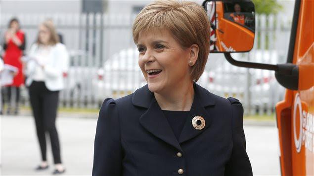 La première ministre écossaise et chef du SNP, Nicola Sturgeon