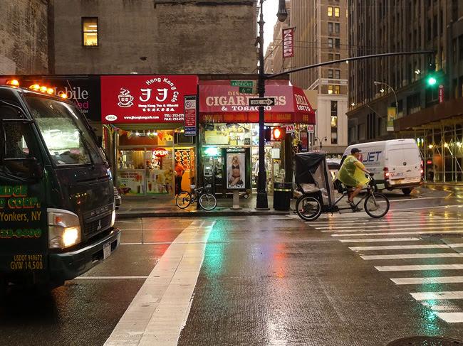 Rain, Sixth Avenue