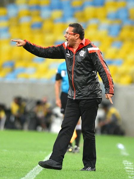 Vanderlei Luxemburgo, Flamengo X Santos (Foto: André Durão)