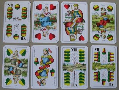 regular hungarian cards