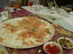Lo-hei aftermath