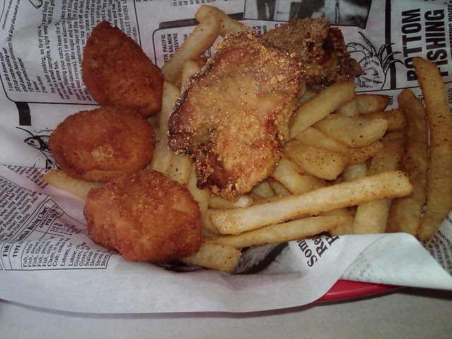 Cod Nuggets & Fried Oysters 2