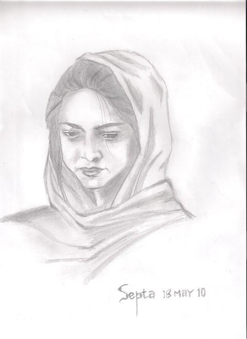 Inspirasi 28+ Gambar Sketsa Wajah Wanita Berhijab