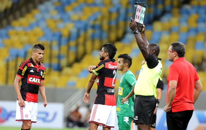 Léo Moura, Flamengo X Boavista (Foto: Cezar Loureiro / Agência O Globo)