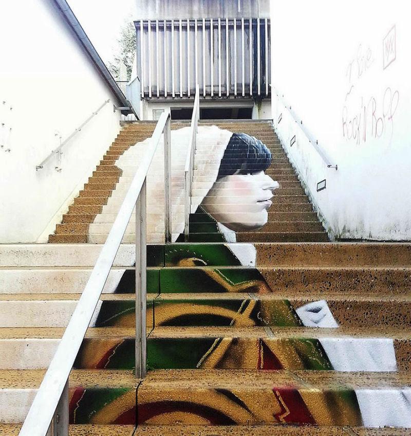 17 escadarias com as mais belas decorações urbanas do mundo 16