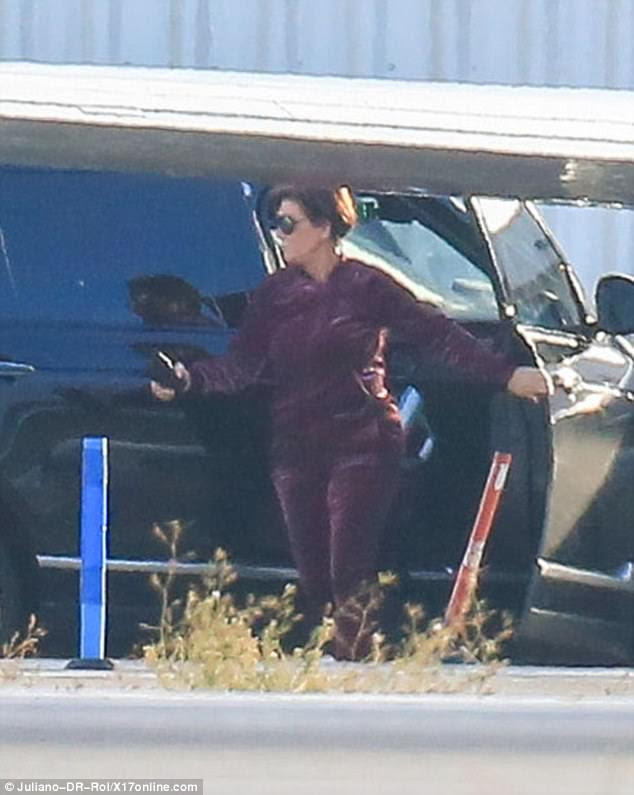 Just call me Grandma: Kris Jenner has refused to confirm or deny whether Kylie is expecting