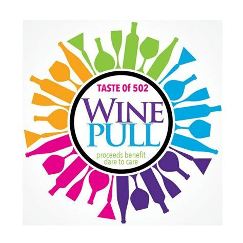 The Wine Pull for charity. Come try your luck at picking a