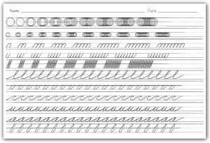16 Best Images of Cursive Handwriting Worksheets 4th Grade  Cursive Words Practice Worksheets