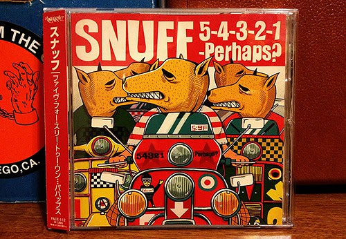 Snuff - 5-4-3-2-1-Perhaps? CD - Japanese Version by Tim PopKid