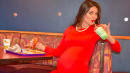 Expectant Mom Poses For Glamorous Maternity Pics At Taco Bell