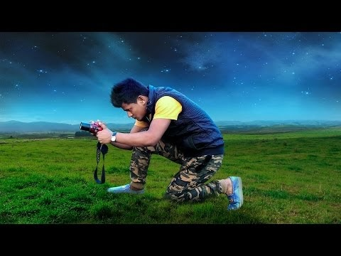 CREAT DRAMATIC PHOTOGRAPHER PHOTO MANIPULATION