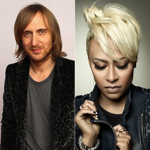 David Guetta e Emeli Sandé (Foto: Divulgação)