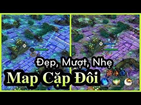 MOD Map Fix Lag Liên Quân mùa 10 - Combo Map Cặp Đôi Siêu Đẹp & Mượt cho tất cả máy