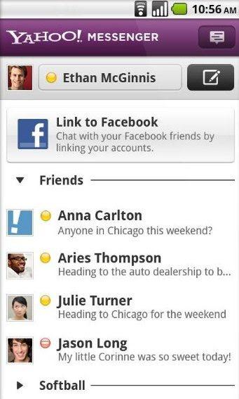 Aplikasi Chat Yahoo Messenger Untuk Android Terbaru