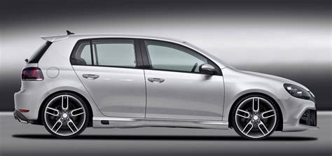 caractere improves visually  vw golf  gti
